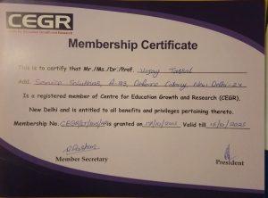 CEGR Member